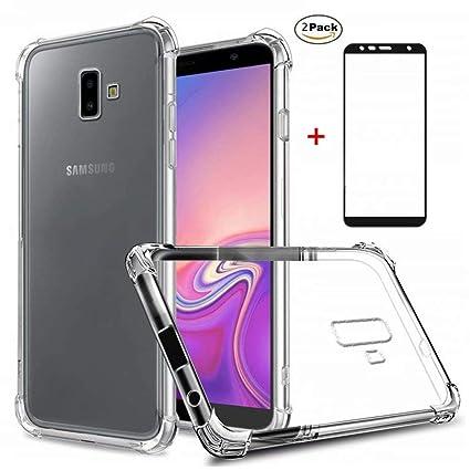 Coque Samsung Galaxy J6 Plus Ttimao Souple Transparente Tpu Silicone