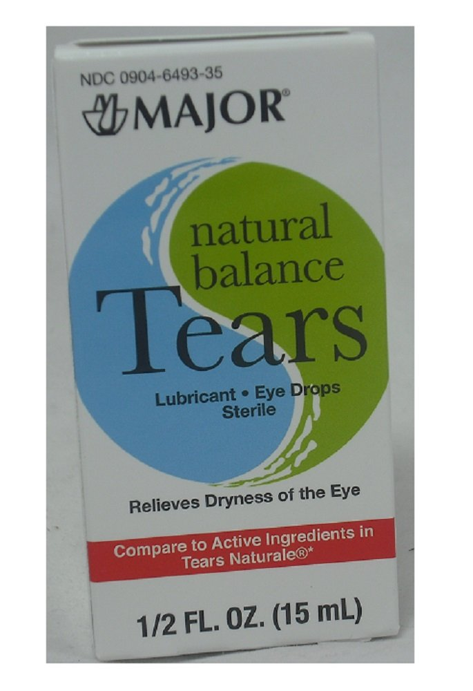 Major Pharmaceuticals Natural Balance Tears 15ml