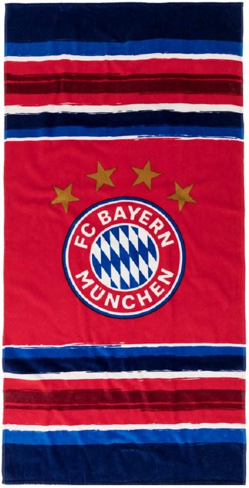 FCB Bayern M/ünchen Stripes Strandtuch