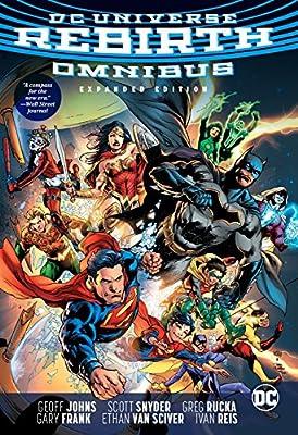 ab603392e3bb64 Amazon.com  DC Rebirth Omnibus Expanded Edition (9781401276454)  Various   Books