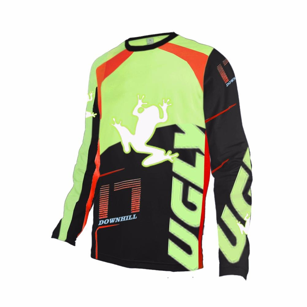 Uglyfrog # 02 2017新作メンズBMX Bike JerseyメンズDownhill MontainバイクTop B077GS72F4 Small|カラー44 カラー44 Small