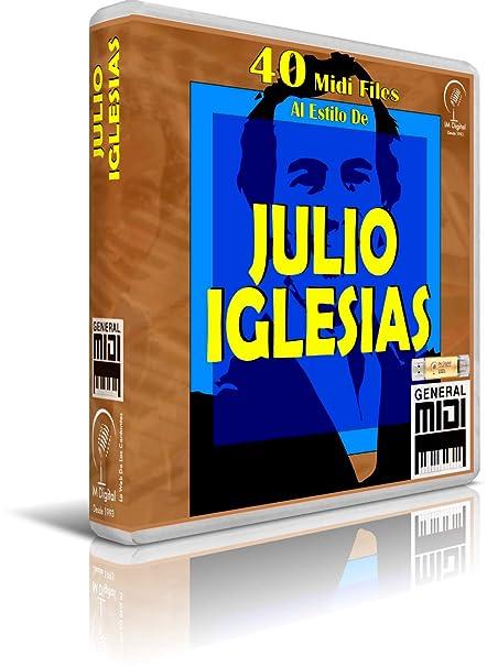 Julio Iglesias - Pendrive USB OTG para Teclados Midi, PC, Móvil, Tablet,