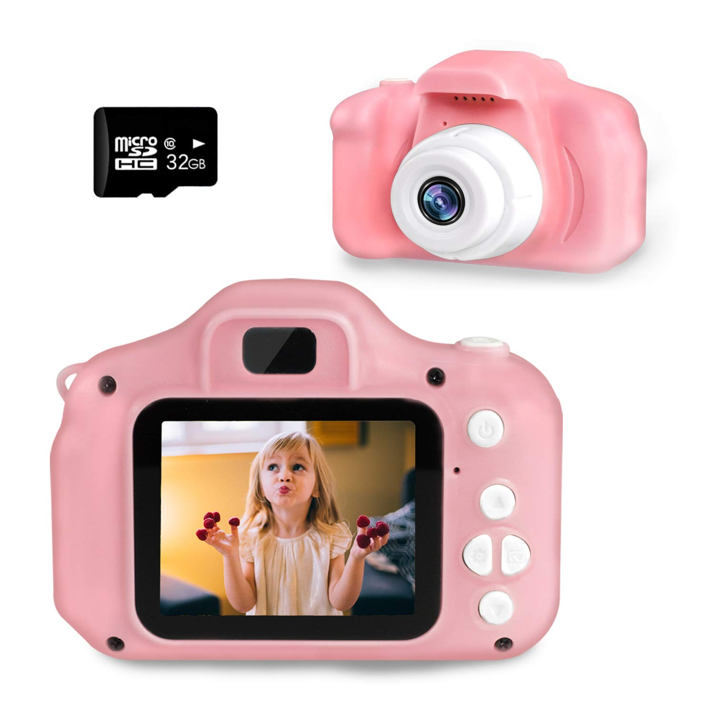 Kids Digital Camera SZREDU Toddler Video Camera for 3-8 Years Boys GirlsChildren