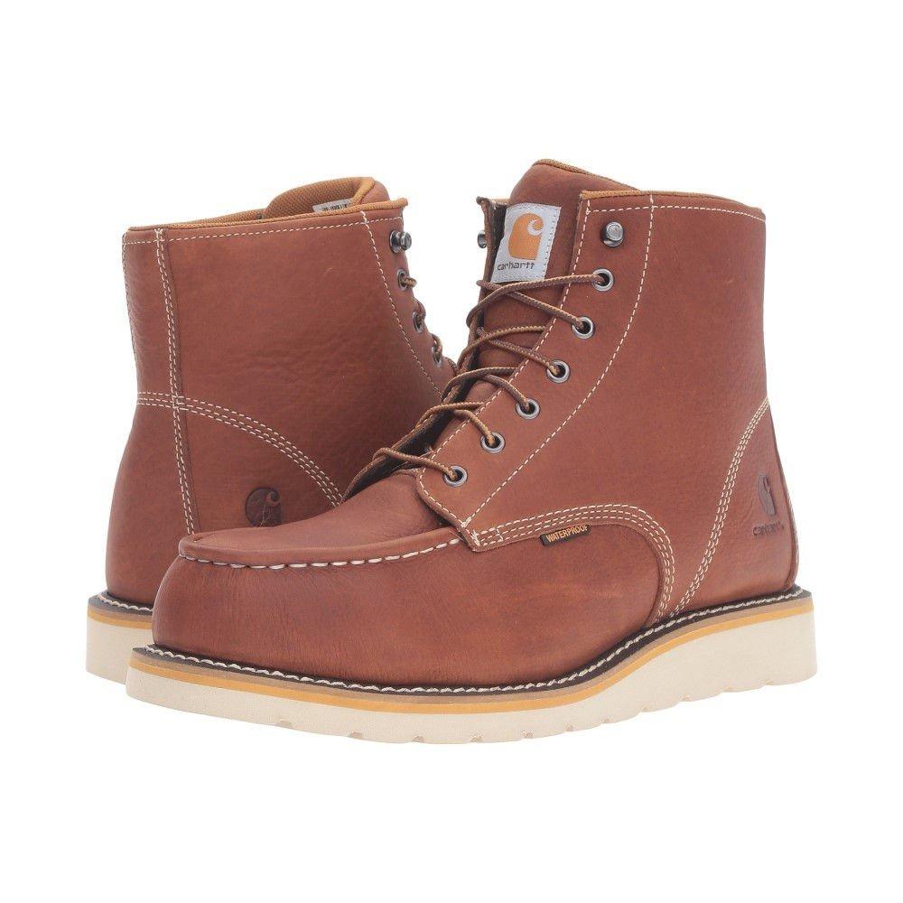 (カーハート) Carhartt メンズ シューズ靴 ブーツ 6-Inch Steel Toe Waterproof Wedge Boot 並行輸入品  B071F9JLNG