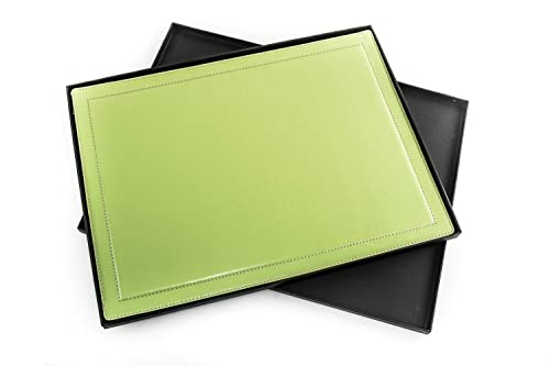Sottomano Scrivania Verde : Sottomano da scrivania a ribalta verde pelle regalo professionale