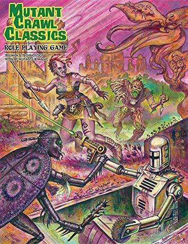 Classic Rpg Game - Mutant Crawl Classics