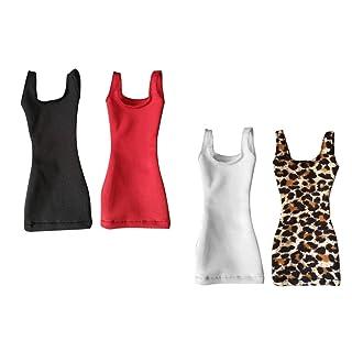 Sharplace Scala 1/6 Vestiti Abiti per Hip Vest Abbigliamento12 Policci Hot Toys Phicen Kumik CY CG Femmina Figura del Corpo