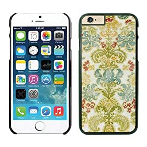 Colorful Damask iPhone 5 5s Cases Black