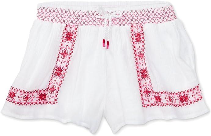 Toddler /& Little Girls 3//3T Ralph Lauren Floral-Embroidered Shorts