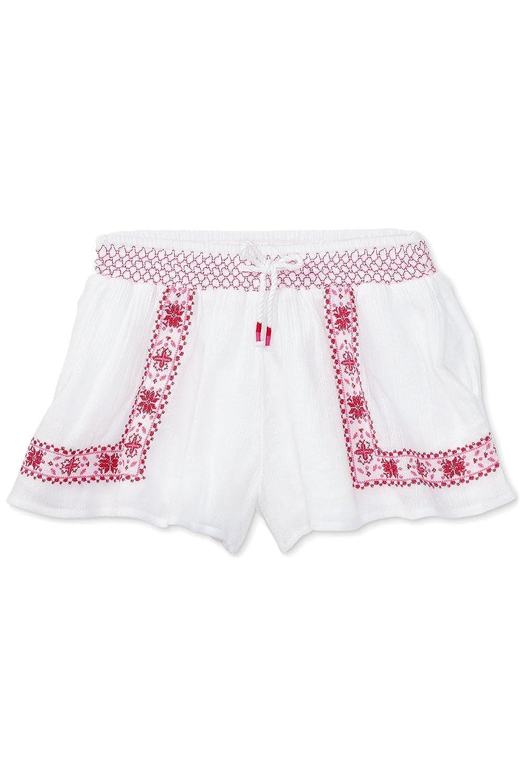 Ralph Lauren Floral-Embroidered Shorts, Toddler & Little Girls 3/3T