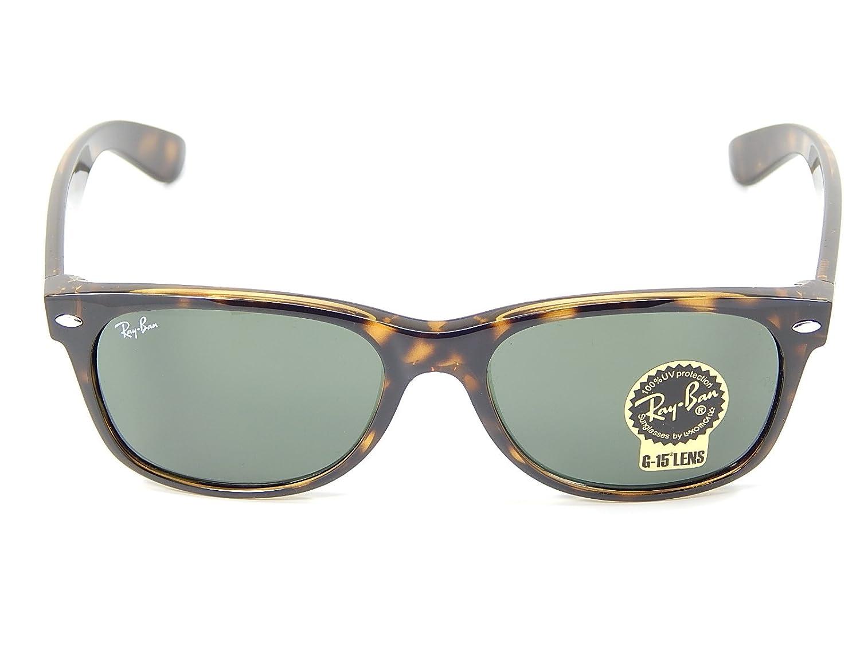 31819caeab Amazon.com  New Ray Ban RB2132 902L Tortoise G-15 XLT 55mm Sunglasses  Shoes
