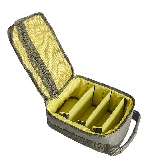 WULEI 🐠🐠🐠Bolsa de Pesca Tackle Caja de Almacenamiento Paquete de Hombro Bolsa de Mano Bolsa de Equipaje Caja de Engranajes: Amazon.es: Deportes y aire ...