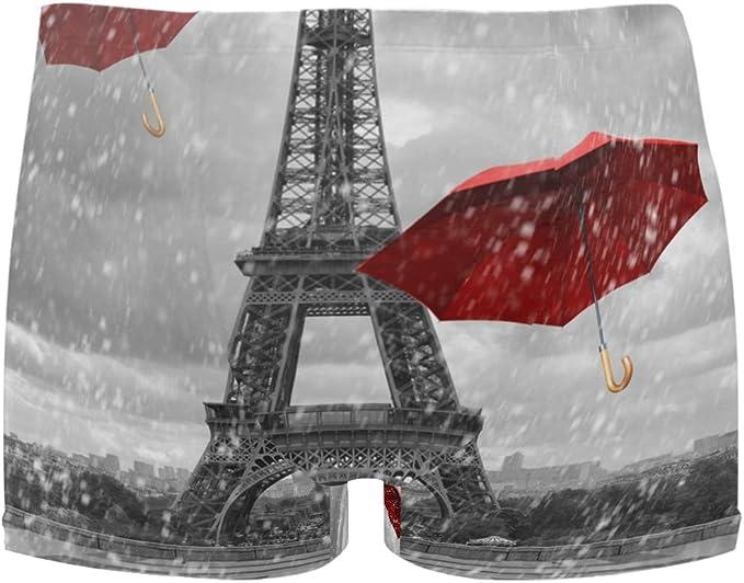 LUPINZ Paris Torre Eiffel con Paraguas voladores Rojos para ...