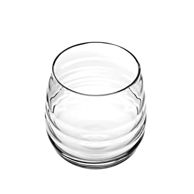 Portmeirion 735343555169 Sophie Conran Double Old Fashion Balloon Glass, Clear