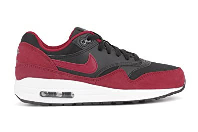 the latest aa078 9da20 Nike Air Max 1 GS - 555766048 - Color White-Black-Red - Size