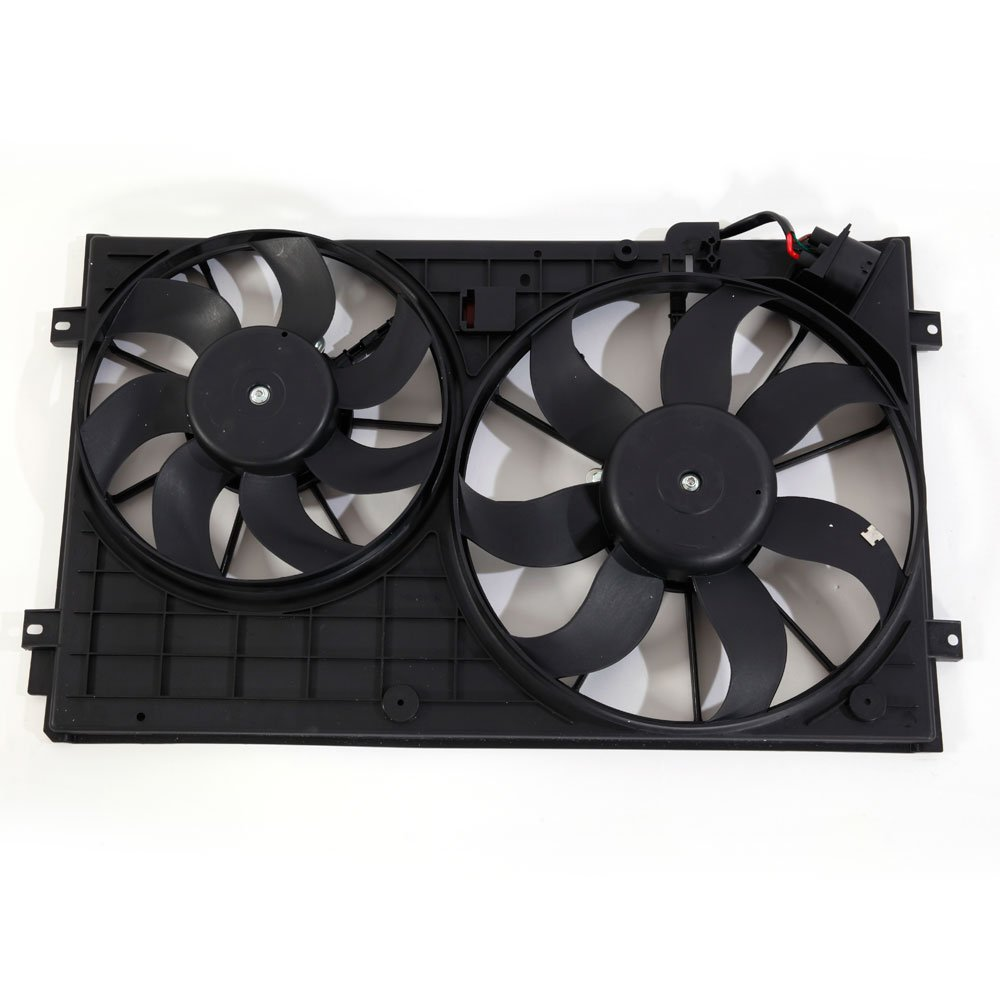 Engine Radiator Cooling Fan Clutch Assembly Fit For 2005-2013 VW Volkswagen Jetta 2010-2014 VW Golf 2012-2013 VW Passat