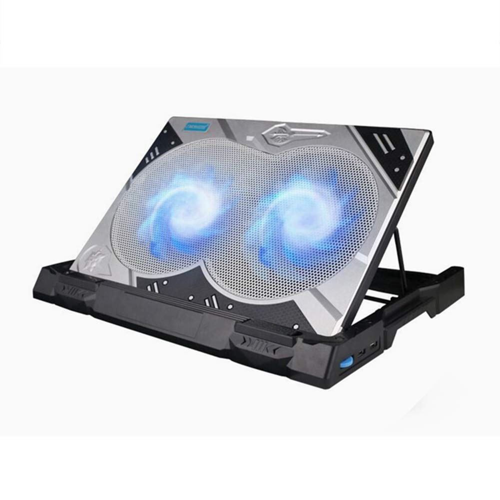 Ho,ney Laptop Cooler - Folding Portable 12cm Large Fan for Fast Cooling, LED Touch Screen Operation, Suitable for 17.3 Inches Or Less -1053 Notebook Cooler by Ho,ney (Image #2)