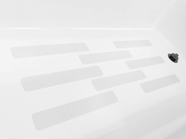 marchepieds Bateaux marchepieds Hopasa Appliques de Baignoire Anti-d/érapant Autocollants de Baignoire Anti-d/érapant de Baignoire pour Baignoire 21 Bandes escaliers piscines