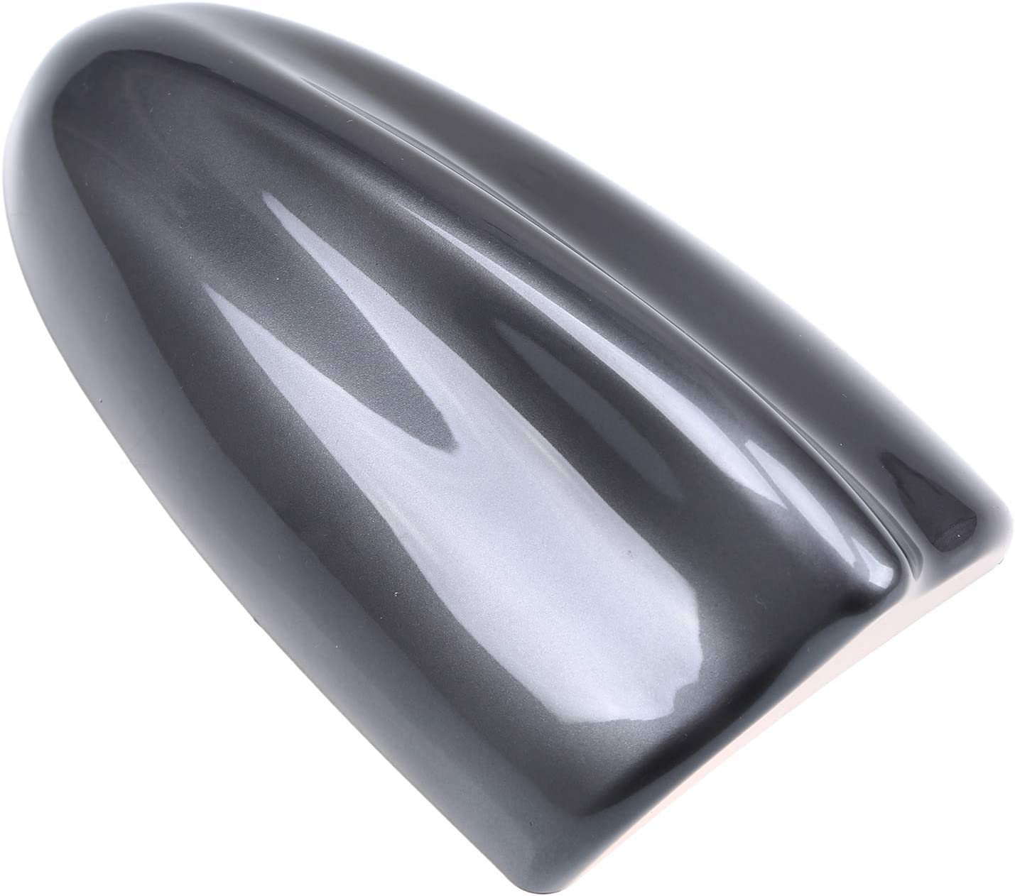 Possbay Universal Car Shark Fin Antenna AM//FM Radio Signal Roof Aerial for Auto SUV Truck Offroad with Adhesive Base Waterproof
