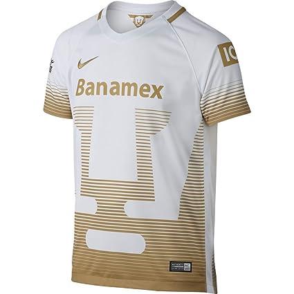 Nike Fútbol réplica de la Playera UNAM los Pumas de la Juventud Away Replica  Soccer Jersey 498b7aef5ef