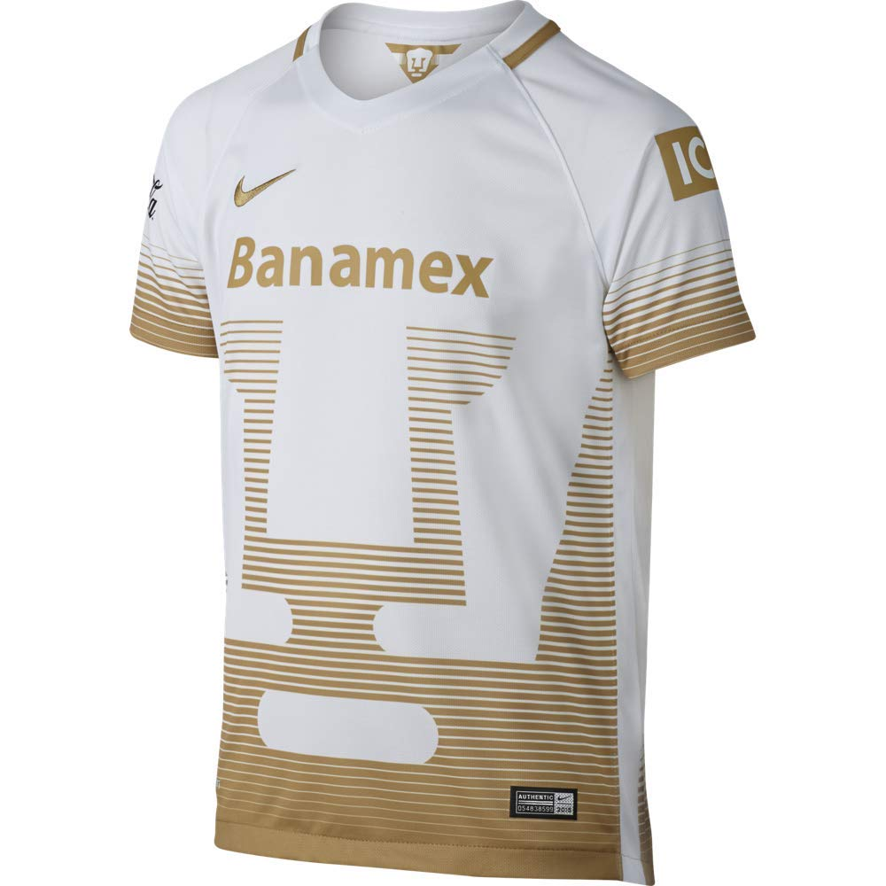 84115712cba Amazon.com  Nike UNAM Pumas Youth Away Replica Soccer Jersey  Clothing