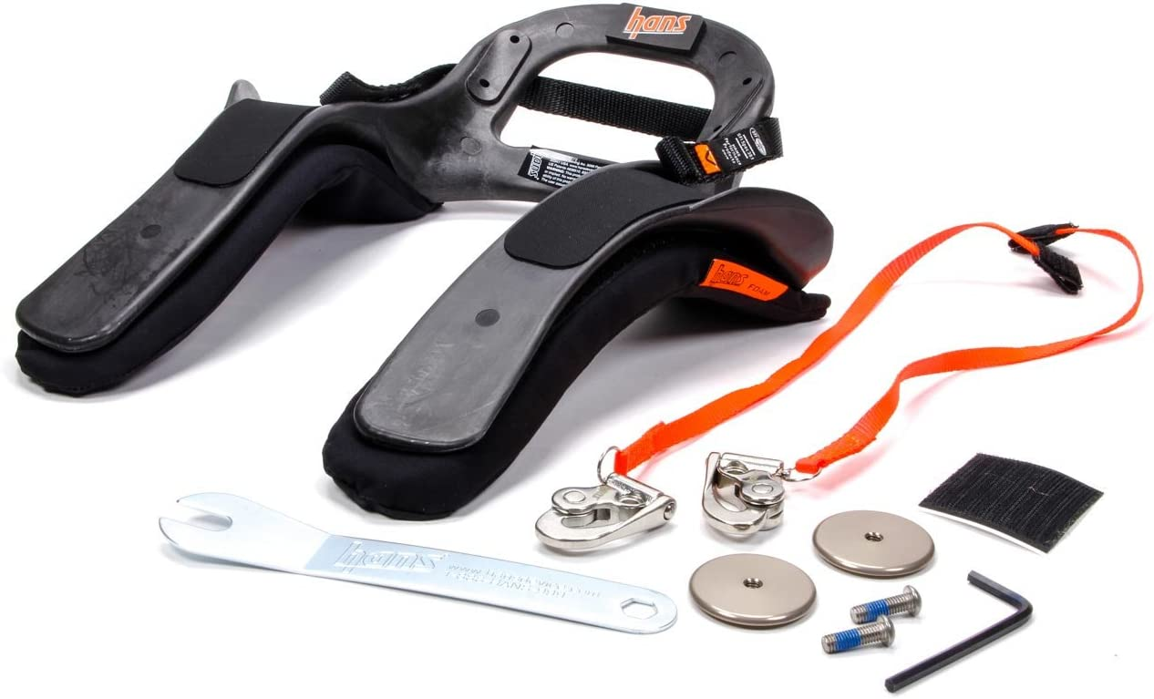 Post Anchor HANS Sport III Device- Medium SA Helmet SFI