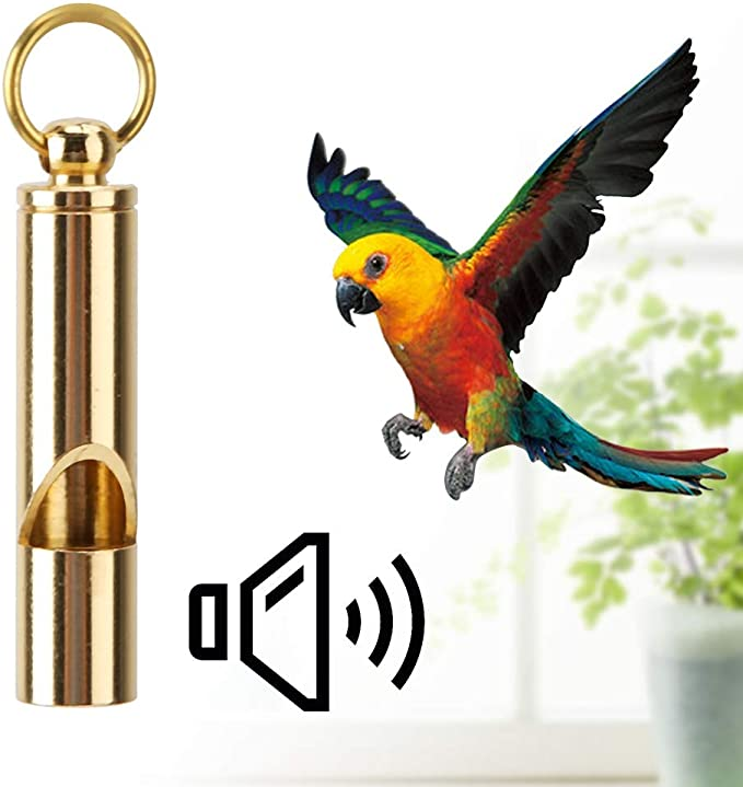 High Frequency Titanium Whistle Outdoor Survival Emergency EDC Birds Training