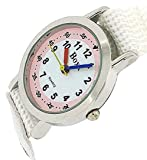 Boxx Kids Analogue Pale Pink & White Dial & White