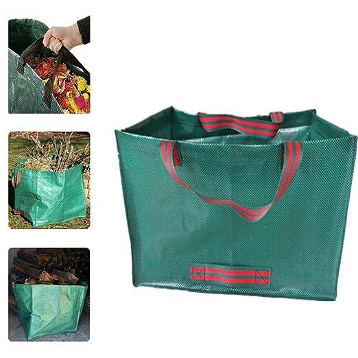 SSCYHT Residuos de jardinería - Bolsas Bolsas de Basura con ...