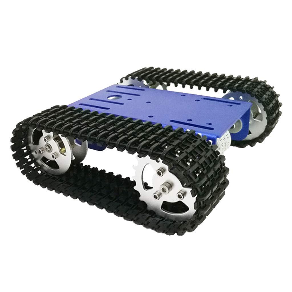B Blesiya Intelligenter Roboter Panzerwagenn Chassis-Kit Track Crawler mit 12V Motor für Arduino B07MW47VJK Zubehör Sehr gute Qualität | Schöne Farbe