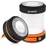 Suaoki LED Linterna de Camping plegable, recargable, resistente al agua, con manivela & USB USB