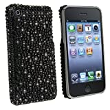 Rare Black Rhinestone Bling Case Compatible With iPhone 3G 3Gs