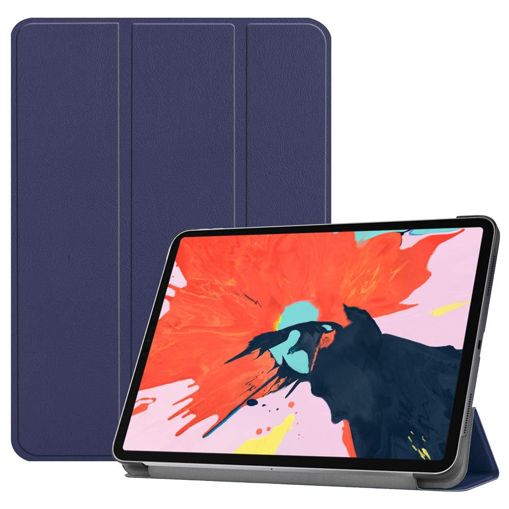 入園入学祝い AICEDA iPad 12.9インチ Pro 12.9インチ AICEDA 2018レザーウォレットケース バンパー付き iPad iPad Pro 12.9インチ 2018フリップカバー バンパー 携帯電話ケースケース(ダークブルー), SC50-MU-166 ダークブルー B07KWYV7LH, JONNY BEE:da06dbc0 --- a0267596.xsph.ru