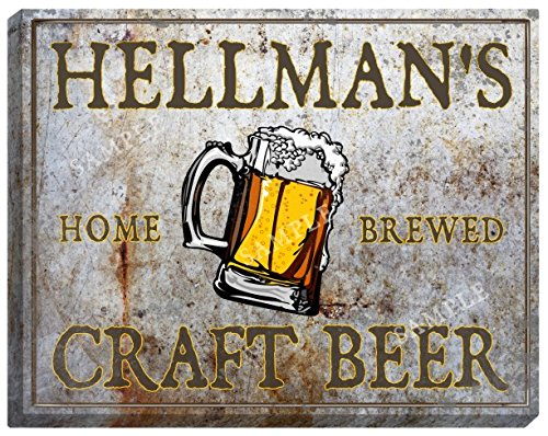 hellmans-craft-beer-stretched-canvas-sign-16-x-20