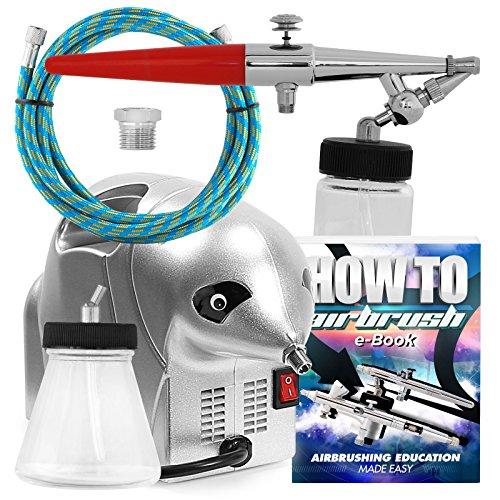 PointZero Spray Tanning Kit - Compressor Hose Airbrush Gun Set -