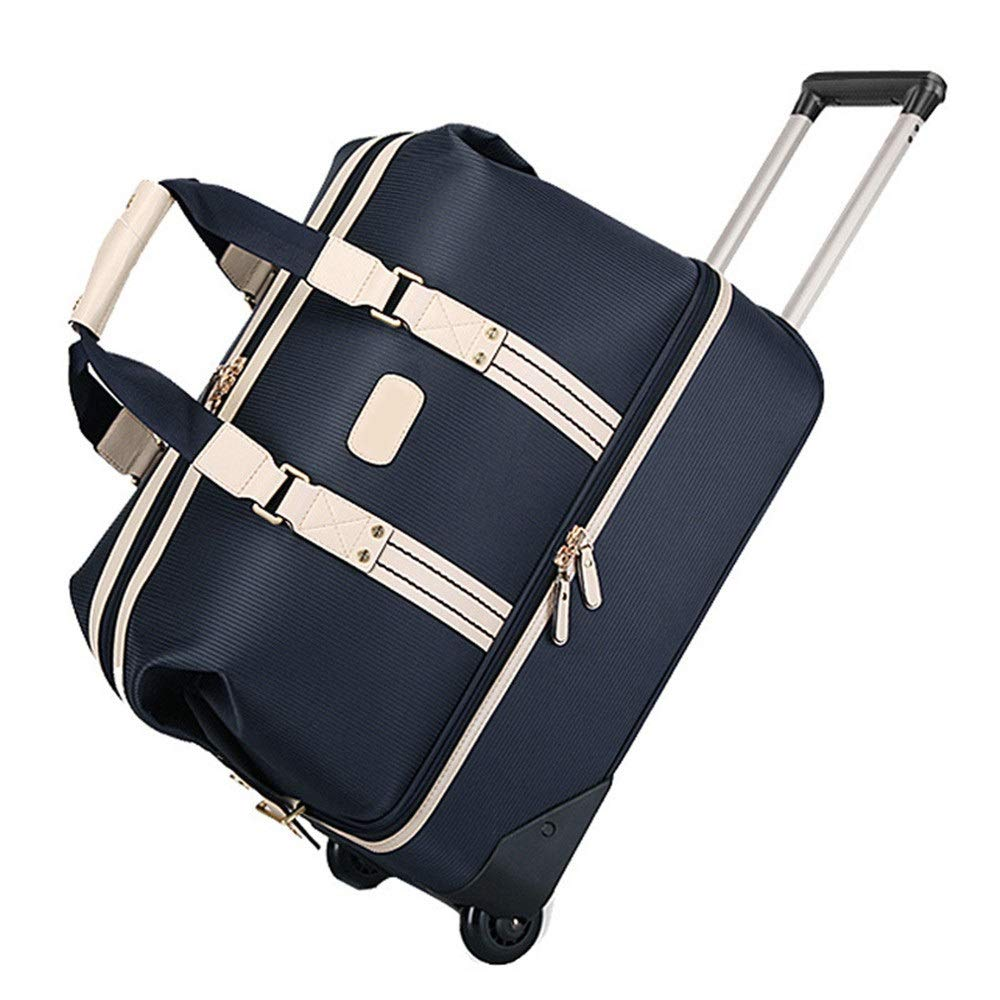 TAESOUW-Accessories Golf Clothing Bag Double Lever Travel Bag with Wheels Large Capacity Lightweight Fitness Swimming Yoga Handbag Women Men Luggage Bag (Color : C, Size : 502745cm) by TAESOUW-Accessories