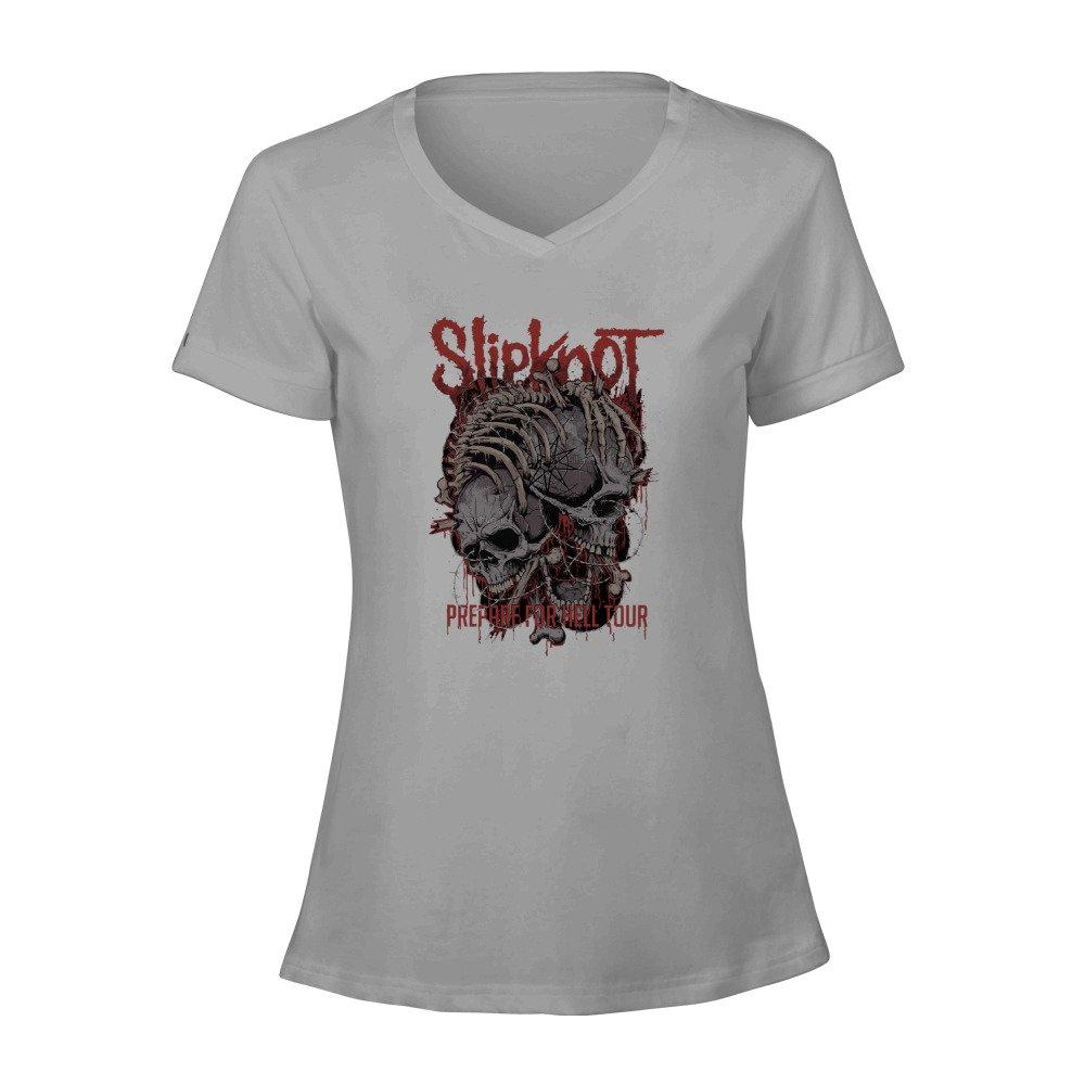 Toowest Heavy Metal Band Slipknot Tour Logo T