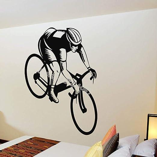 wangpdp Entusiasta del Ciclismo Tatuajes de Pared Bicicleta Niño ...