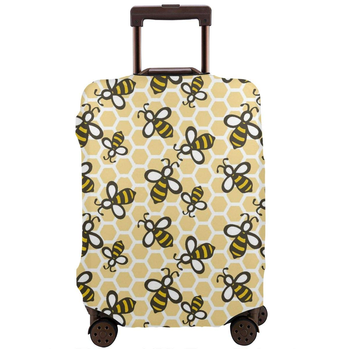 TYDhey Honey Bees Universal Fashion Luggage Suitcase Cover Protector