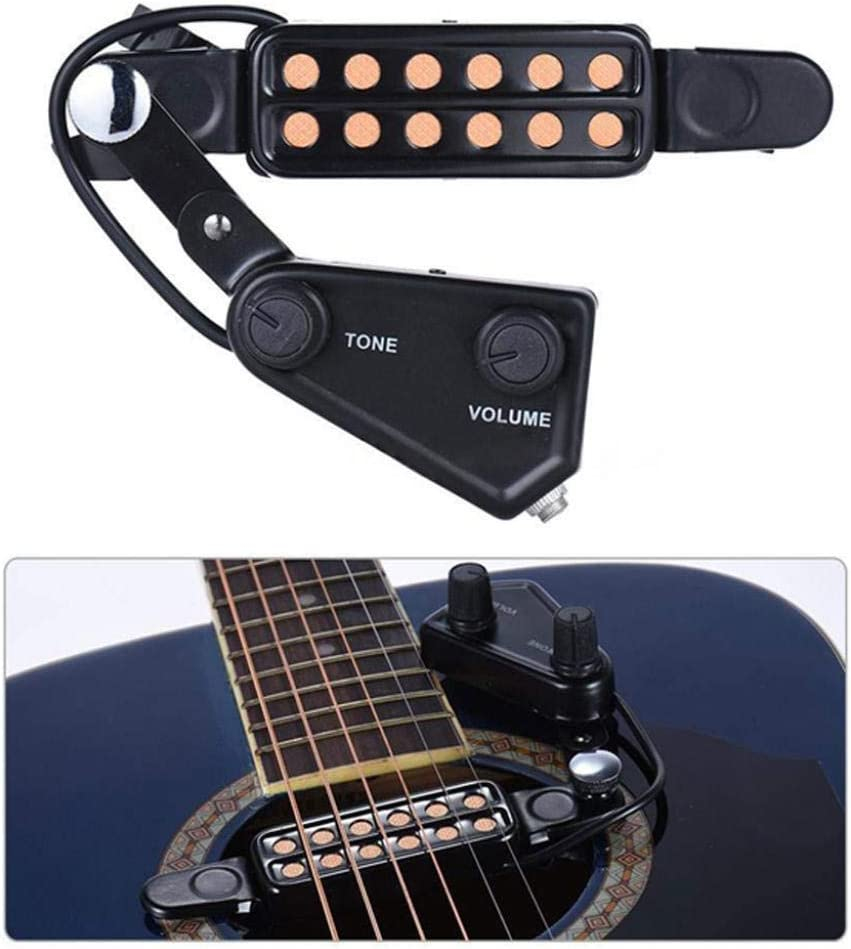alpha-grp.co.jp Black Gold Sound Hole Humbucker Acoustic ...