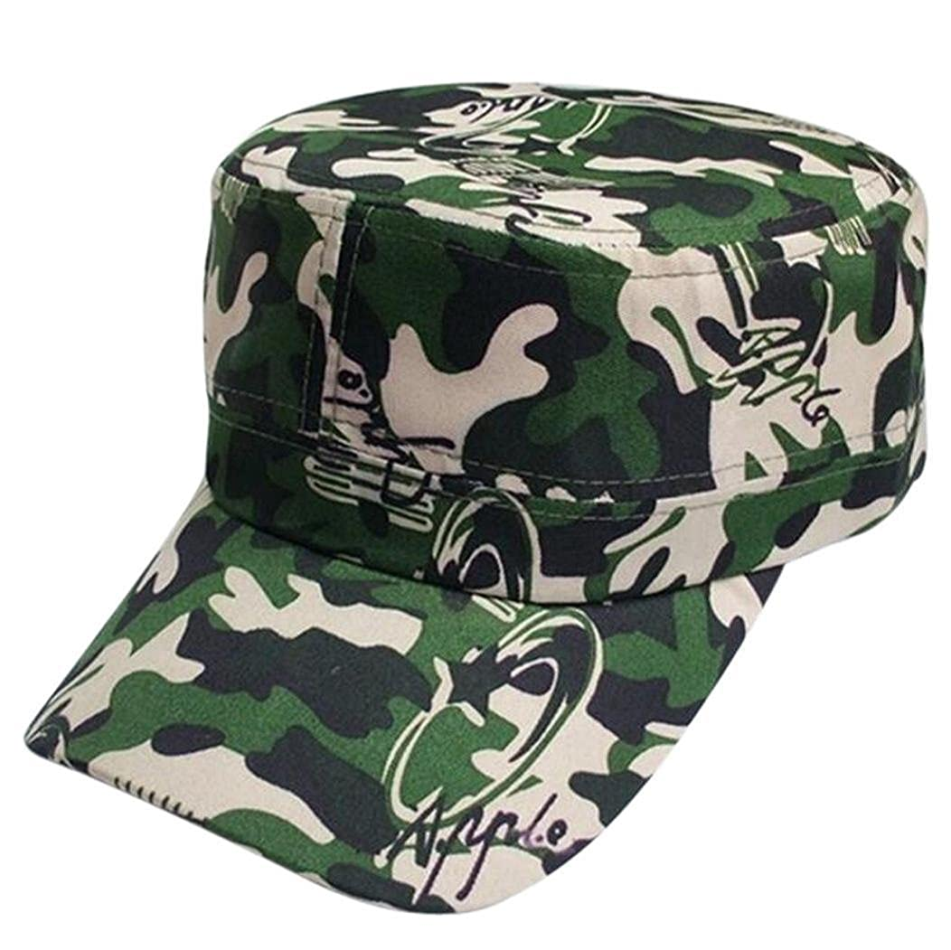 94f641753d4 Camouflage Outdoor Climbing Baseball Cap Hip Hop Dance Hat Cap for Women  and Men (Green-A)  Amazon.co.uk  Clothing