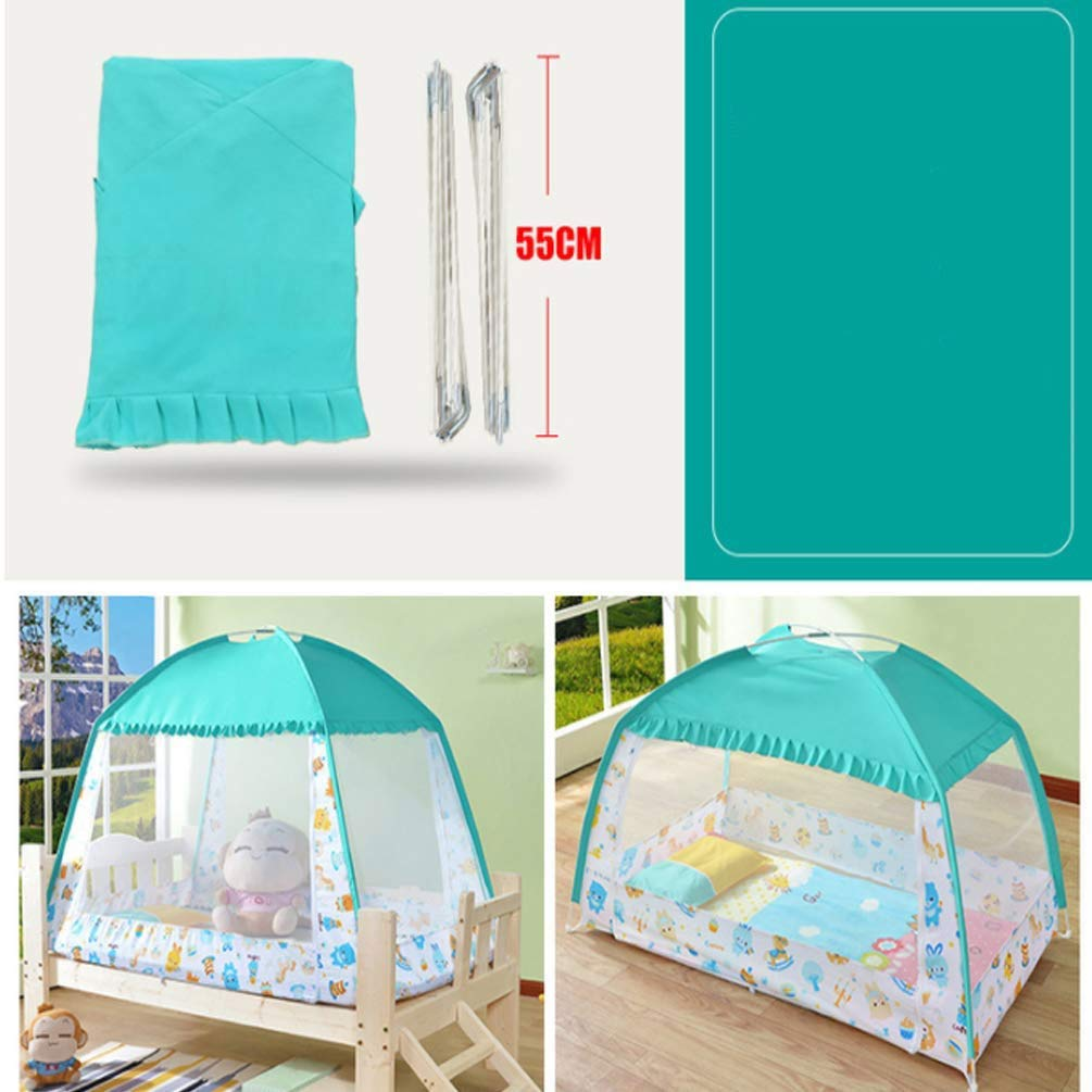 NSHUN Pop-Up Mosquito Net Tent for Beds Anti Mosquito Bites Folding Design with Net Bottom for Babys Adults Trip (Size : 1.5m) by NSHUN (Image #5)