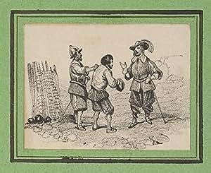 Three men arguing