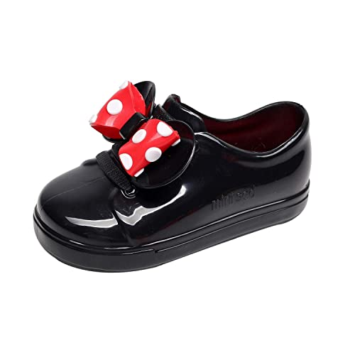 K-youth Niño Impermeable de Goma Infantil Bebé Bowknot Botas De Lluvia Niñas Niños Zapatos