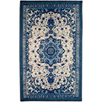 Kashi Home Atlantis 3x5 Egyptian Decor Accent Area Rug, Floor Mat