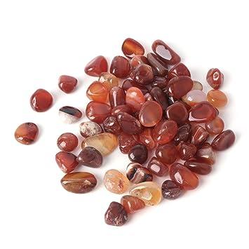 Dabixx - Coloridas piedras de ágata natural para decoración de peceras.: Amazon.es: Hogar