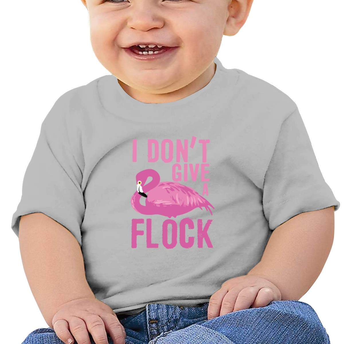 I Dont Give A Flock Toddler Short Sleeve Tee Boys Birthday Gift