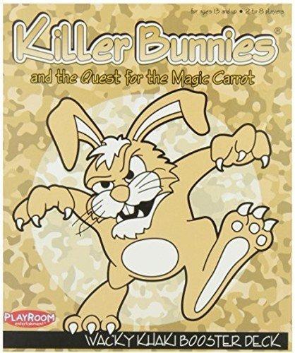 Killer Bunnies Red Booster Deck (Killer Bunnies Khaki Booster)