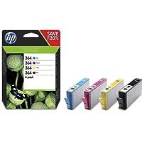 HP NO 364 Combo-pack Cyan/Magenta/Yellow/Black Inkjet / getto d'inchiostro Cartuccia originale