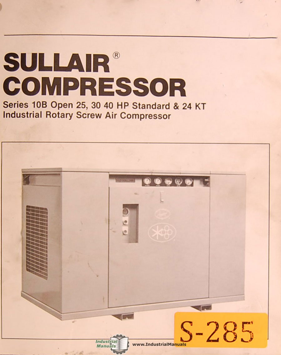 screw compressor troubleshooting guide pdf